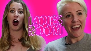 Can You Be Friends With An Ex | Hannah Hart | Ladies' Room Ep 4