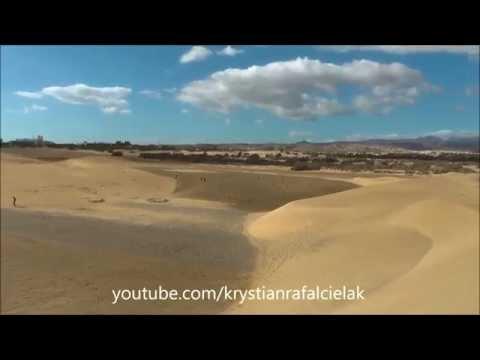 Playa del Inglés Maspalomas Gran Canaria (gay & nudist beach, dunes, reserve nature park)
