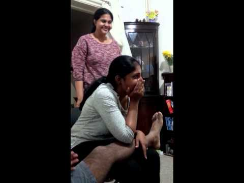 Haasya vs. Mommy :-)