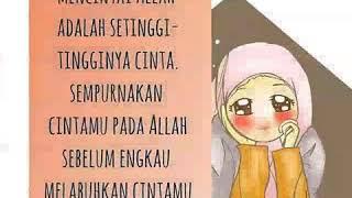 Kartun muslimah kata kata