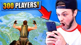 300 PLAYER BATTLE ROYALE... ON MY PHONE!