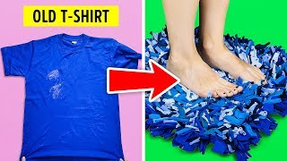 20 NEW DIY IDEAS FOR YOUR OLD T-SHIRTS