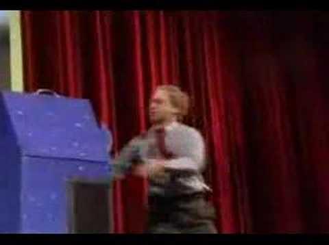 人� �切断マジックを透明な箱で種明かし
