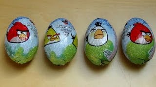 Surprise Egg Angry Birds [Fazer Chocolate Egg with Toy]