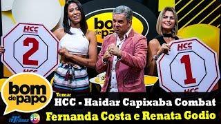 Programa Bom de Papo - 11/05/2018 - Fernada Costa e Renata Godio
