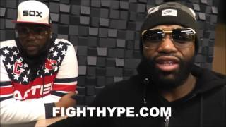 ADRIEN BRONER CONFIRMS CHRIS BROWN GOT SERIOUS HANDS; WARNS SOULJA BOY DUDE CAN REALLY FIGHT