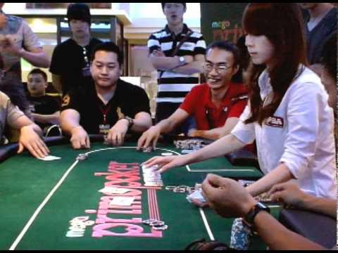 台灣也有德州撲克實體比賽喔!!
