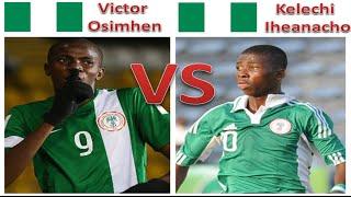 Victor Osimhen vs Kelechi Iheanacho | FIFA U17 World Cup | Goals, Skills + Assists | Nigeria U17