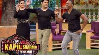 The Kapil Sharma Show–Episode 10–दी कपिल शर्मा शो– Raveena & 'DJ' Bravo - 22nd May 2016 special pic