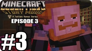 Minecraft Story Mode Episode 3  - Gameplay Walkthrough Part 3 [ HD ] - No Commentary