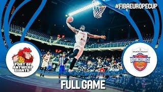 Antwerp Giants (BEL) v Demir Insaat (TUR) - Full Game - FIBA Europe Cup 2016/17