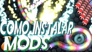 MOD Slither.io HACK TRUCO SLITHER.IO Super Zoom Como Instalar MODS
