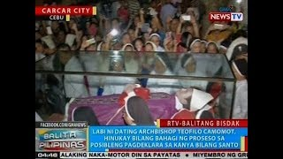 BP: Labi ni ex-Archbishop Teofilo Camomot, hinukay bilang bahagi ng Canonization