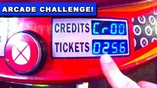 3,300 Arcade Tickets in 30 Minutes