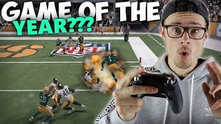 BACK AND FORTH FOR THE WIN!! GAME OF THE YEAR?? Madden 18 SuperHero Series