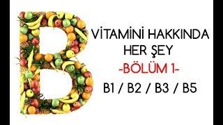B Vitamini Hakkında Her Şey  Bölüm 1