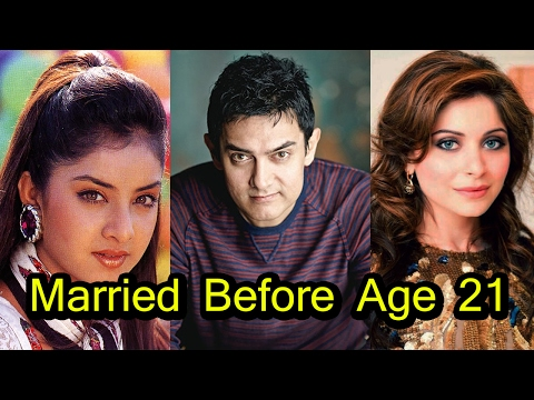 7 Bollywood Celebrities Who Married Before Age of 21