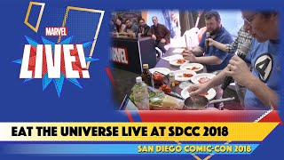 Eat the Universe Live at SDCC 2018 (ft. Justin Warner and comedian Mike Mitchell)
