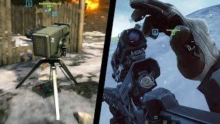 Metal Storm Launcher + Rorsch X1 Rail Gun (BF4 Final Stand)
