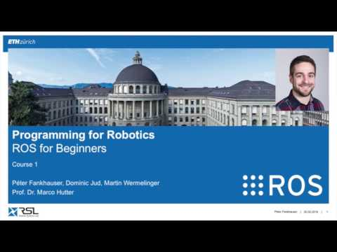 Programming for Robotics ROS Course 1