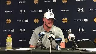 Notre Dame OL Mike McGlinchey: Miami Loss