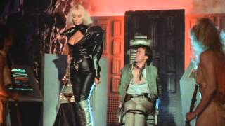 Spiky Silver Thigh Boots on Sybil Danning in The Phantom Empire