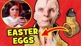 Star Wars The Last Jedi EASTER EGGS & Crucial Details You Missed!