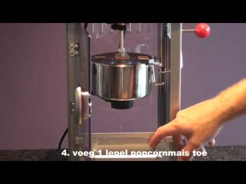 handleiding popcornmachine