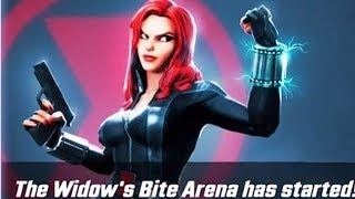 Marvel Strike Force - New Black Widow's Bite Arena!