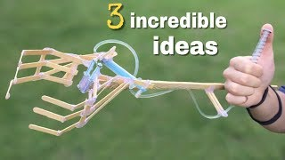 3 incredible ideas and Awesome DIY Projects