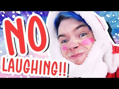TRY NOT TO LAUGH CHALLENGE Christmas Edition