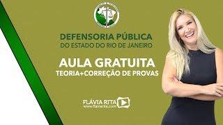 Aula Gratuita - DPE/FGV - Rio 2019 - Flávia Rita