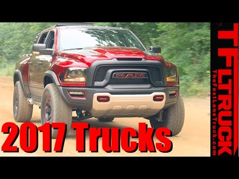 Top 7 Brand New Pickup Trucks for 2017 Counted Down