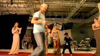 تدريبات ابطال على مر الزمان على رقصة قناة تركيه