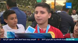 TeN sport - انطلاق أكبر مسابقة للاجئين السوريين في مصر