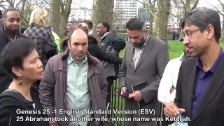 Why do you follow Muhammad pbuh? part 1 of 3 speakers corner