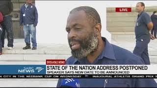 SONA postponement is victory for the country - Willie Madisha