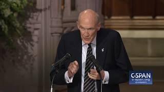 Former Senator Alan Simpson Tribute to President George H.W. Bush (C-SPAN)