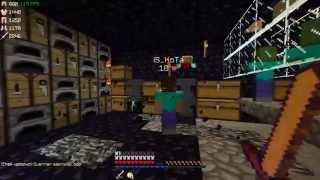 Minecraft Factions: HunterFight#2 - Construction De La Base, PvP & Dons !