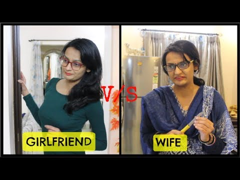 Xxx Mp4 Girlfriend VS Wife Before Marriage Vs After Marriage 3gp Sex