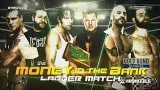 WWE Money In The Bank 2016   Kevin Owens, Cesaro, Alberto Del Rio, Sami Zayn, Dean Ambrose & Jericho