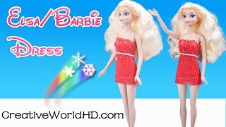 How to Make Frozen Elsa/Barbie Dress Wearable(Flexy) - 3D Printing Pen/Scribbler DIY Tutorial