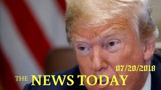 Trump Threatens Tariffs On All $500 Billion Of Chinese Imports | News Today | 07/20/2018 | Dona...