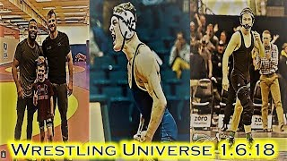 Jordan Burroughs and David Taylor give back; WVU gets the upset; Lee is free!!!- Wrestling Universe