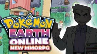 Pokemon Earth Online (BRAND NEW POKEMON MMORPG!?)