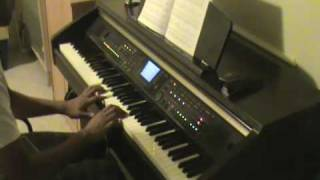 Stranger by Secondhand Serenade on piano
