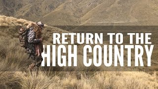 Return to the High Country   New Zealand Bull Tahr Hunt