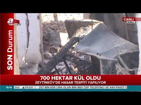 A Haber yanan Zeytinköy'de