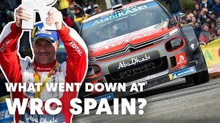 The Top 5 Moments from WRC Rally RACC Catalunya | WRC 2018