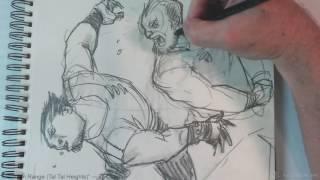 Sketches with Special Guest Marvel/DC/Dark Horse/Indie Artist Mitch Byrd!